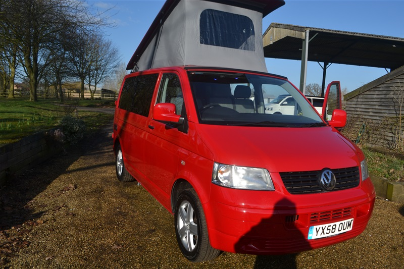 2008 VW T5 4 Berth